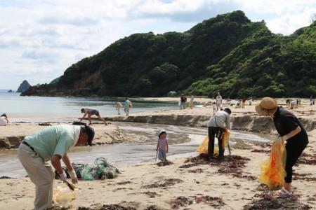長門市 長門市海岸清掃の日